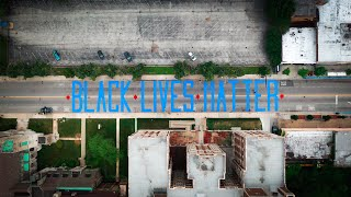 Chicago Community Activist Will Calloway brings Black Lives Matter mural to the South Side