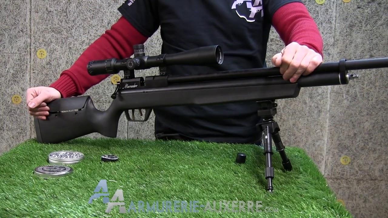 Benjamin Marauder 22, carabine à plombs PCP
