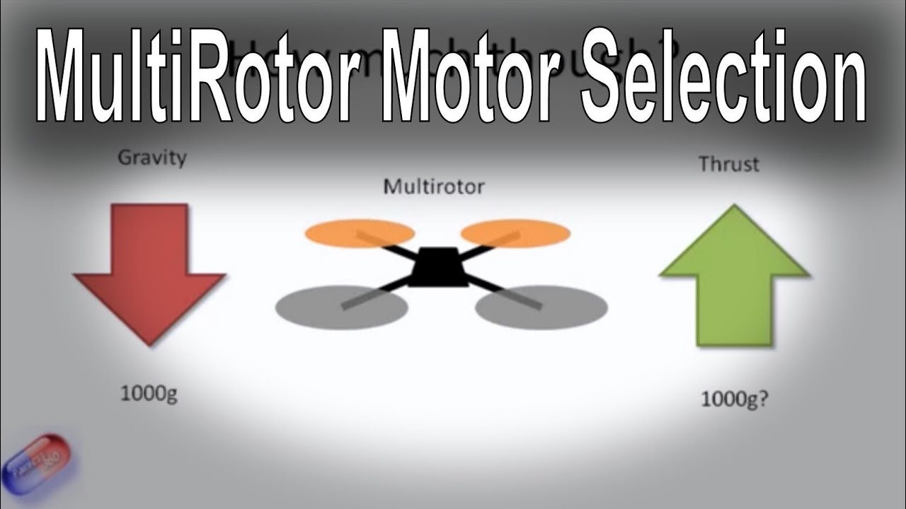 How to select the right motor for your multi-rotor (all types - Tri, Quad,  Hex etc )
