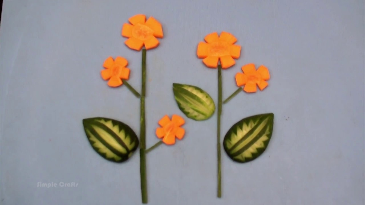 Vegetable Decoration Vegetable Craft Ideas Preschool Crafts