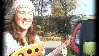 Lindsay's surprise ! Tenor ukulele by Ray Vincent