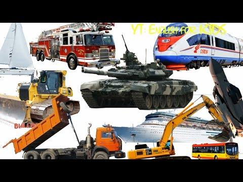 Từ Vựng Tiếng Anh Về Xe Ô Tô,  Xe Quân Sự, Tàu, Thuyền và Máy Nông Nghiệp, Công Nghiệp Thường Gặp