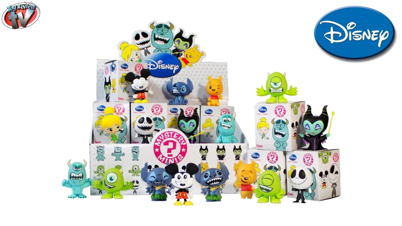 Disney Mystery Minis Vinyl Figures Blind Box Toy Review