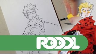 TRIGUN - Vash the Stampede Speed Drawing