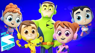 палец семейная песня Стихи для детей Super Supremes Russia Видео для детей Образование