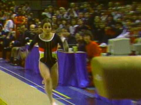 Mary Lou Retton - Vault - 1984 McDonald