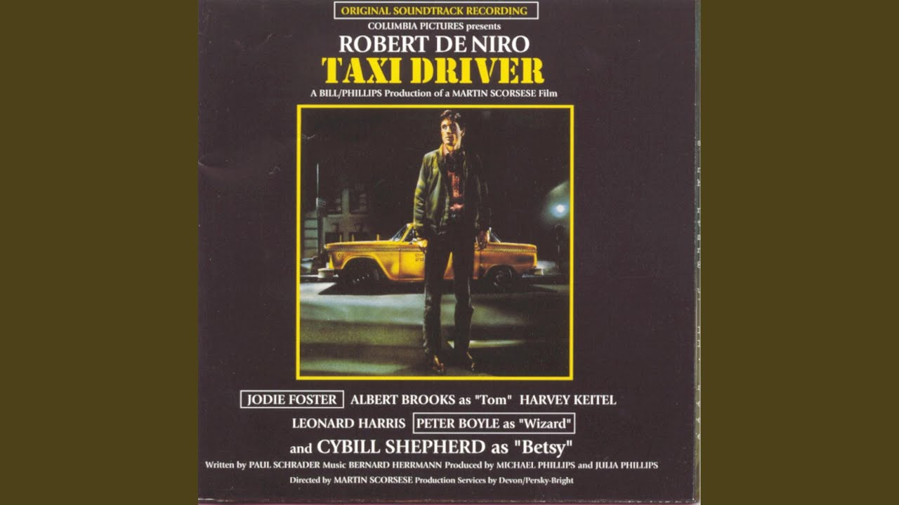 Theme from Taxi Driver (1976) Movie| A night-time taxi driver in NYC (Video)