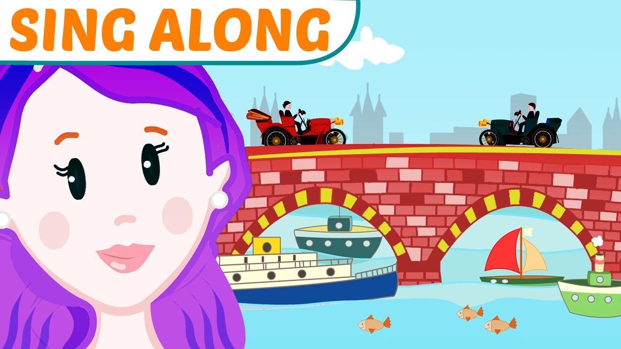 London Bridge Is Falling Down Song with Lyrics Sing Along! #ReadAlong
