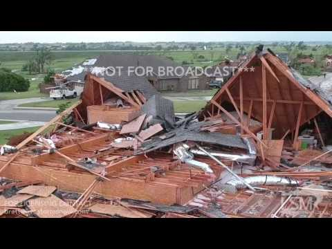 05-16-2017 Elk City, OK - Tornado Damage Aerial Video