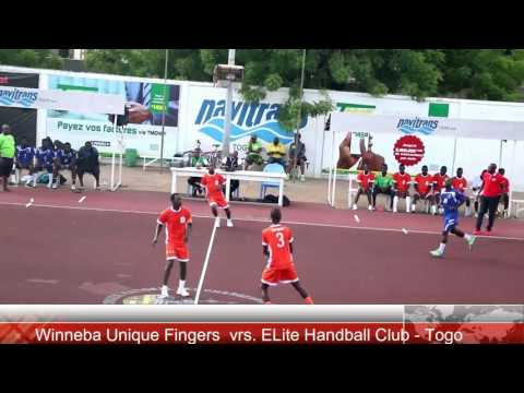 Handball - Winneba Unique Fingers - Ghana vrs Elite Handball Club - Togo