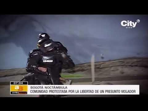 Libertad de presunto violador de dos niñas desató disturbios en Bogotá  | CityTv