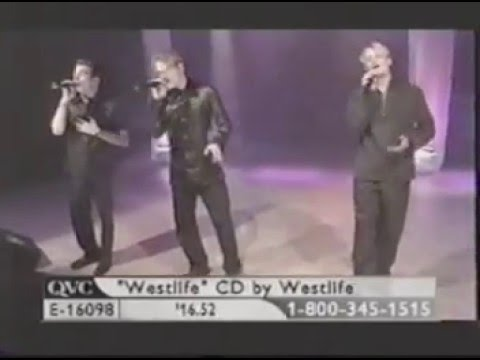 Westlife   I Don't Wanna Fight QVC 08 06 2000