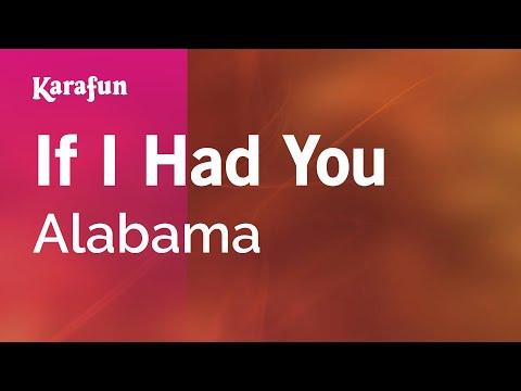 Karaoke If I Had You - Alabama *