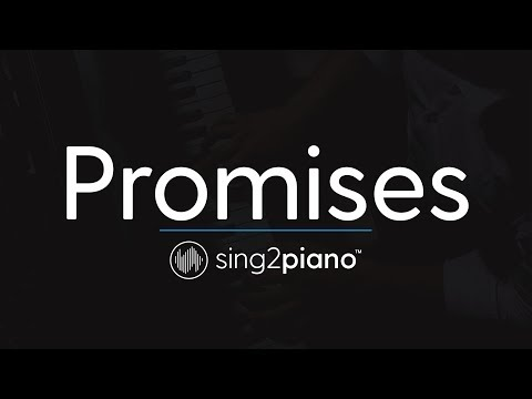 Promises (Piano Karaoke Instrumental) Calvin Harris & Sam Smith