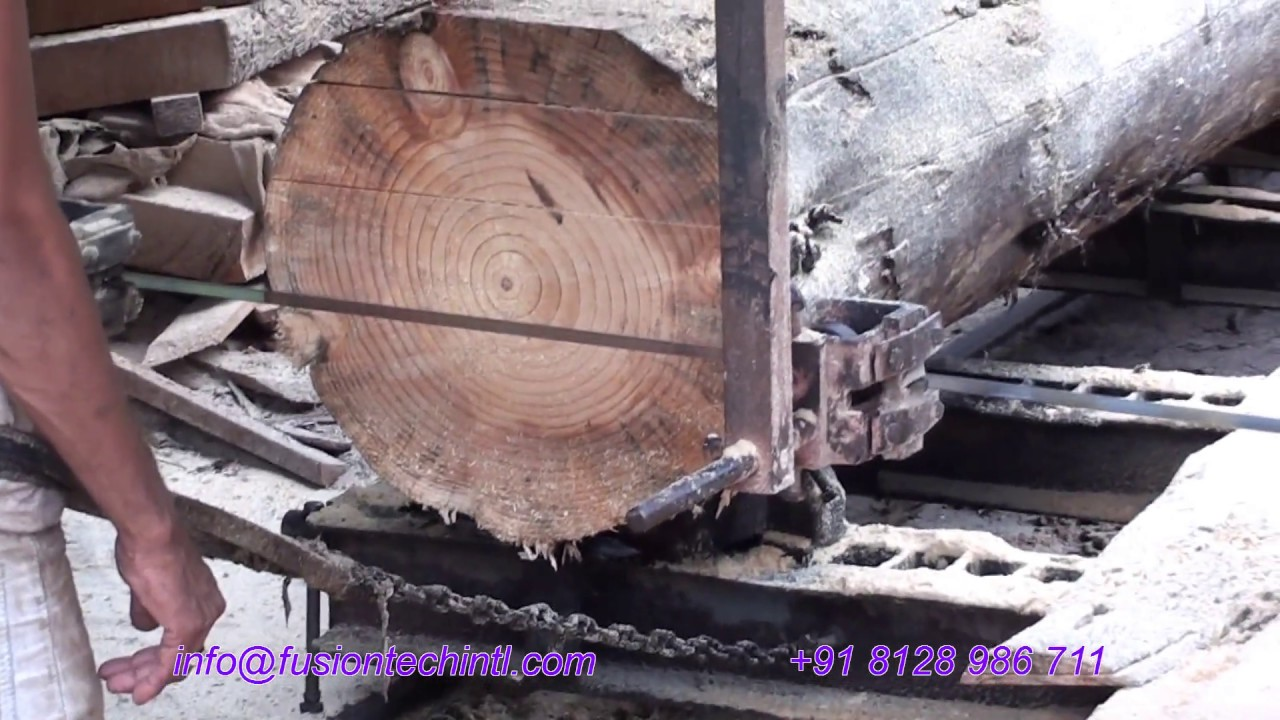 Saw Mill For Sale >> HORIZONTAL SAW MILL - WOOD CUTTING - COMPLETE AUTOMATION ...