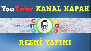 YOUTUBE KANAL KAPAK RESMİ YAPIMI (Detaylı) (w/Gimp)