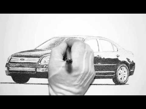 How To Draw A Ford Fusion 13