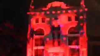 Световое шоу на Контрактовой площади