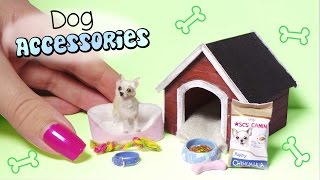 Miniature Dog Accessories Tutorial // Dolls/Dollhouse