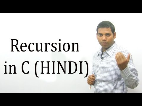 Recursion in C (HINDI/URDU)