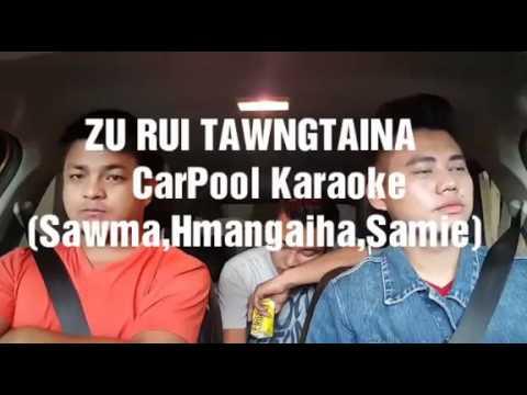 Mizo carpool lipsync karaoke Andrew Laltlankima  (zurui tawngtaina)