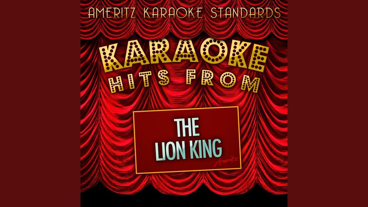 Hakuna matata karaoke version
