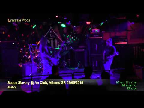 Space Slavery - (complete show) @An Club, Athens 02/05/2015