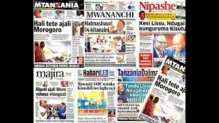LIVE: Tundu Lissu, Ndugai Uso kwa Uso Kortini Leo/Hali Tete Ajali ya Morogoro/Vifo Vyafikia 85