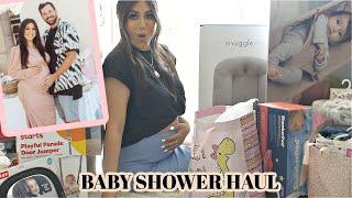 BABY SHOWER HAUL 2020: Baby Bjorn bouncer, Doona stroller, and More!