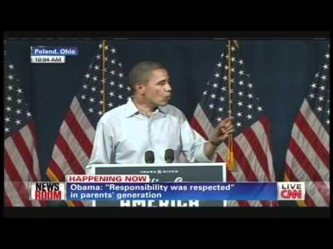 President Obama Dobbins Elementary School Poland Ohio (July 6, 2012)
