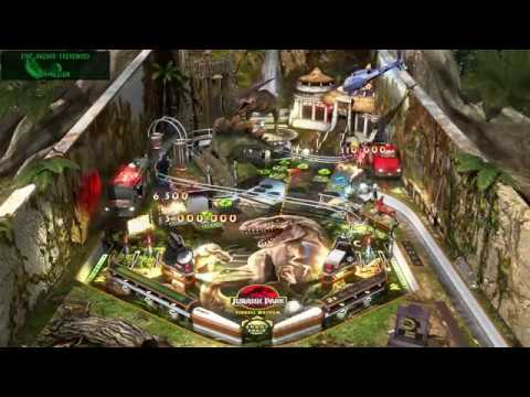 Pinball FX3 - Jurassic World Piball : Jurassic Park Mayhem (Exclusive table gameplay)