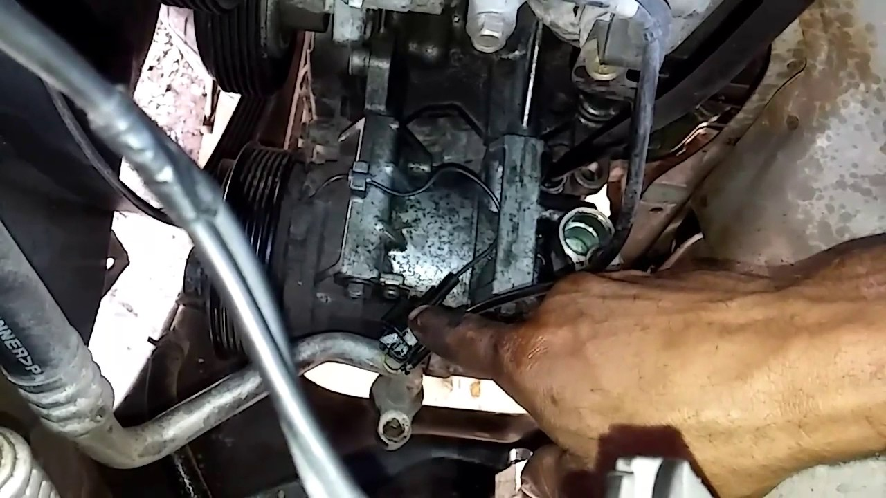 Replacing a AC pressor on a 2003 Nissan Altima  YouTube