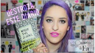 Destroza este diario (Wreck this Journal) – Keri Smith | LasPalabrasDeFa