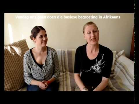 Learn afrikaans 11 basic greeting informal youtube m4hsunfo Images