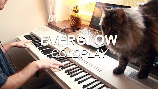"""""""Everglow"""" by Coldplay, played on piano by Joel Sandberg"""