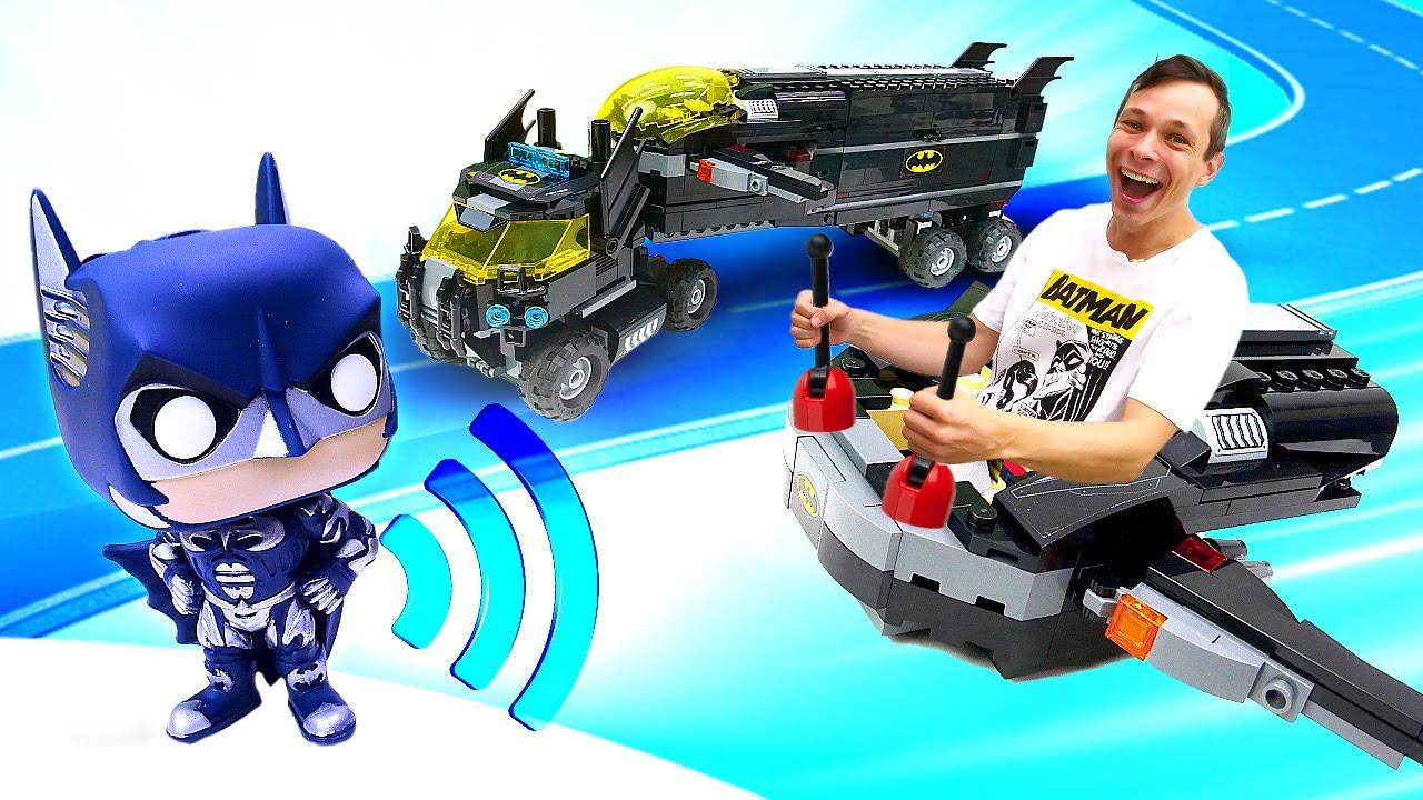 Бэтмен против Джокера! Собираем игрушки LEGO. Видео про супергероев для мальчиков.