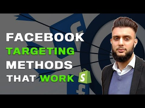 Facebook Ad Targeting Dropshipping & E-commerce thumbnail