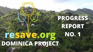 Progress Report No.1 | Dominica Project