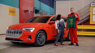 homepage tile video photo for Audi Presents: Santa Says