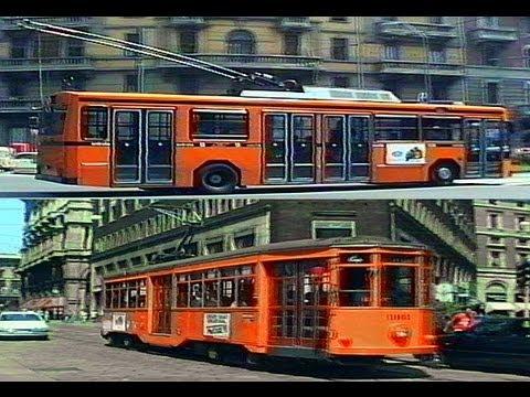 Milan Trams Trolleybuses (Milano Tram Filobus) in 1995