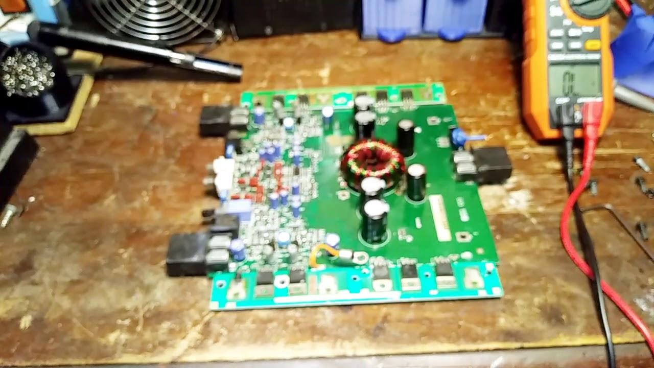 001 Rockford Fosgate Punch 301s 900 Watts Amplifier