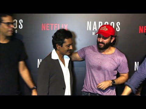 Saif Ali Khan Shows Love And Respect For Nawazuddin Siddiqui - Sacred Games