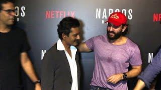 Saif Ali Khan Shows Love And Respect For Nawazuddin Siddiqui - Sacred Games