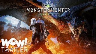 Monster Hunter- World x The Witcher 3- Wild Hunt