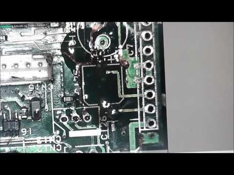 #19 Circuit board trace repair