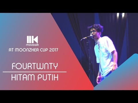 Fourtwnty - Hitam Putih (Live at Moonzher Cup 2017)