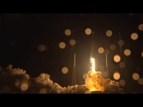Falcon 9 launches Telstar 18V & Falcon 9 first stage landing