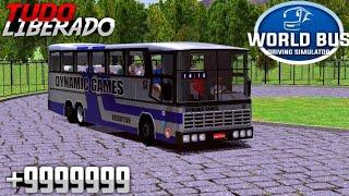 WORLD BUS DRIVING SIMULATOR 0.47 MOD/HACK[DINHEIRO INFINITO+XP+ÔNIBUS LIBERADOS]SEM ROOT
