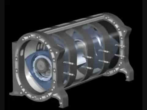 4 rotor animation youtube rh youtube com Rotary Engine in Motion Wankel Engine Diagram