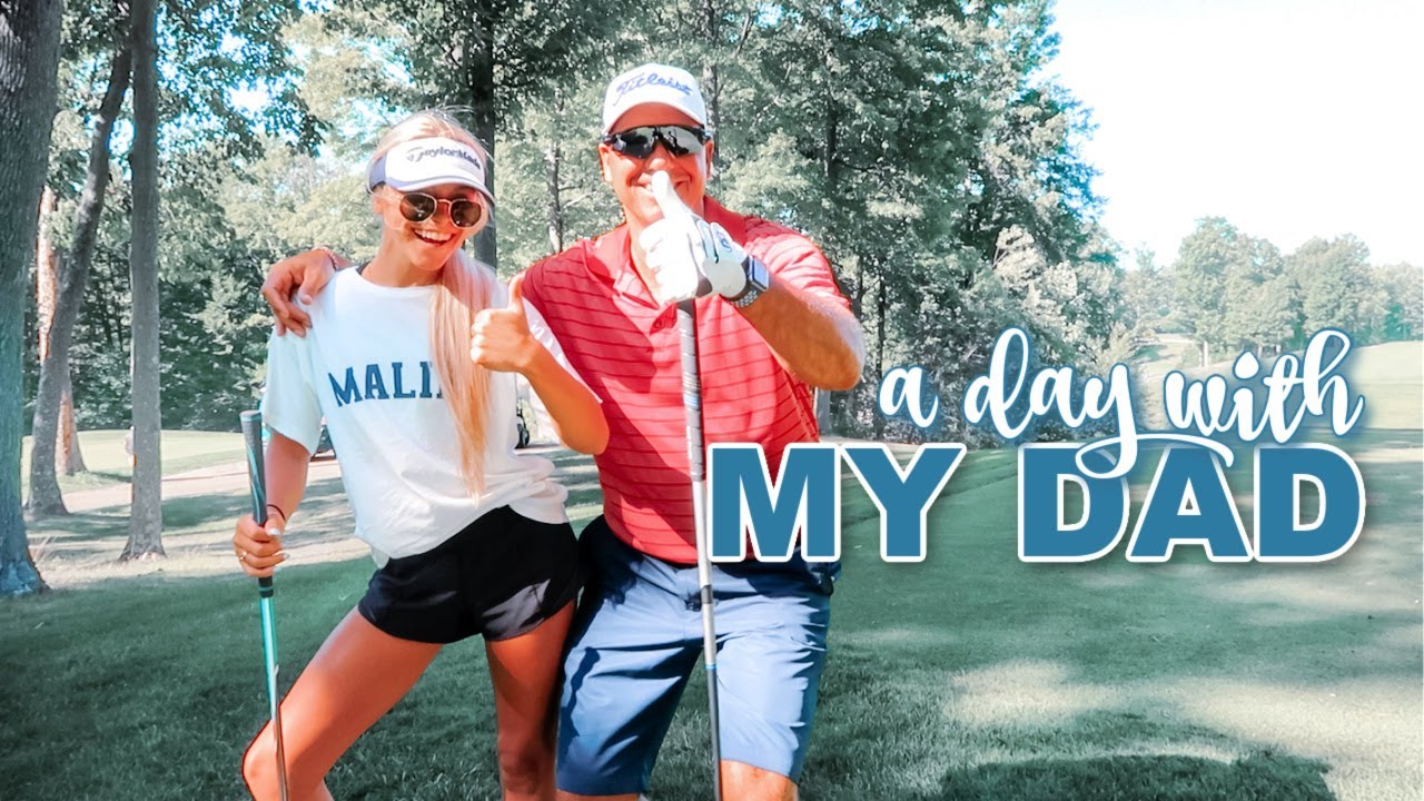 A DAY WITH MY DAD: trying to play golf & softball again
